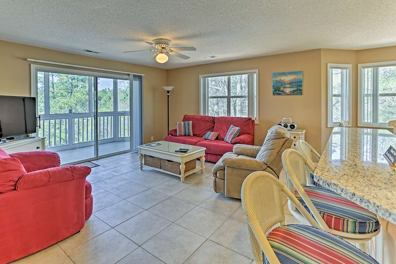 Your Southport getaway begins at this vacation rental condo!