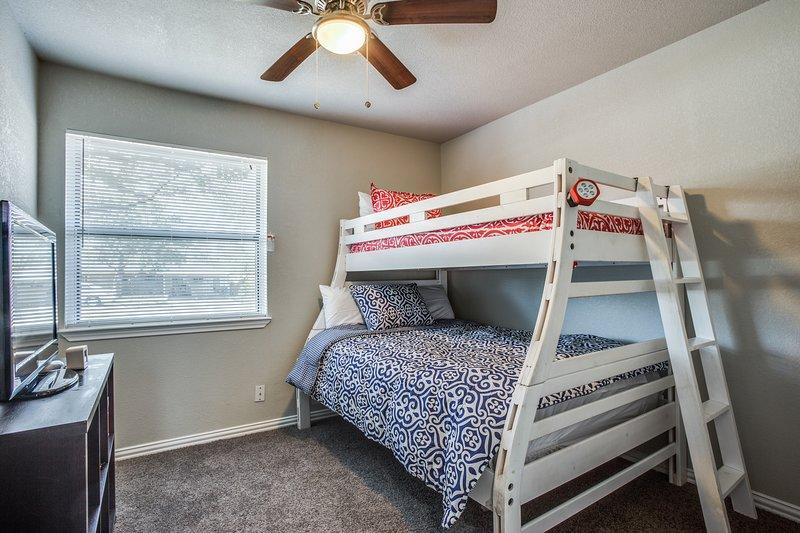 Slaapkamer 3 - Twin Sized Bunk meer dan full-size bed