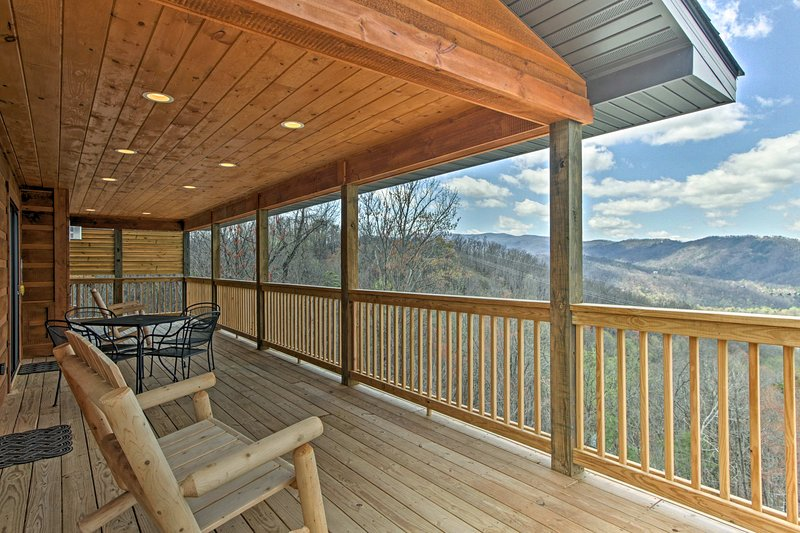 Your unforgettable Smoky Mountain getaway starts at this vacation rental cabin!