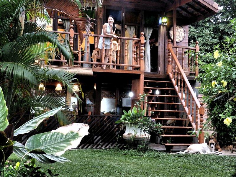 Family Rice Barn, Ferienwohnung in Mae Win