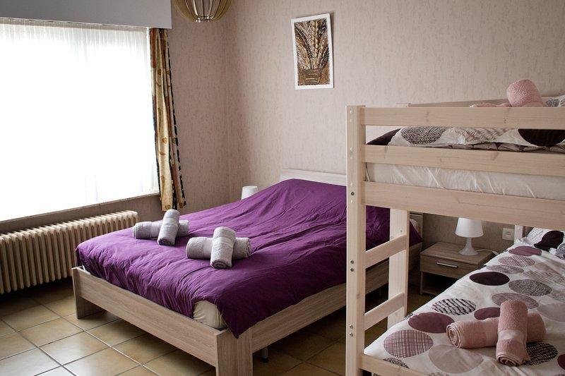 Schlafzimmer für 4 Personen