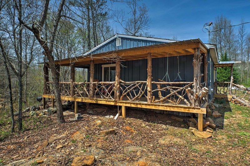 Sumergirse en una escapada de Summerville en esta cabina de alquiler de vacaciones!