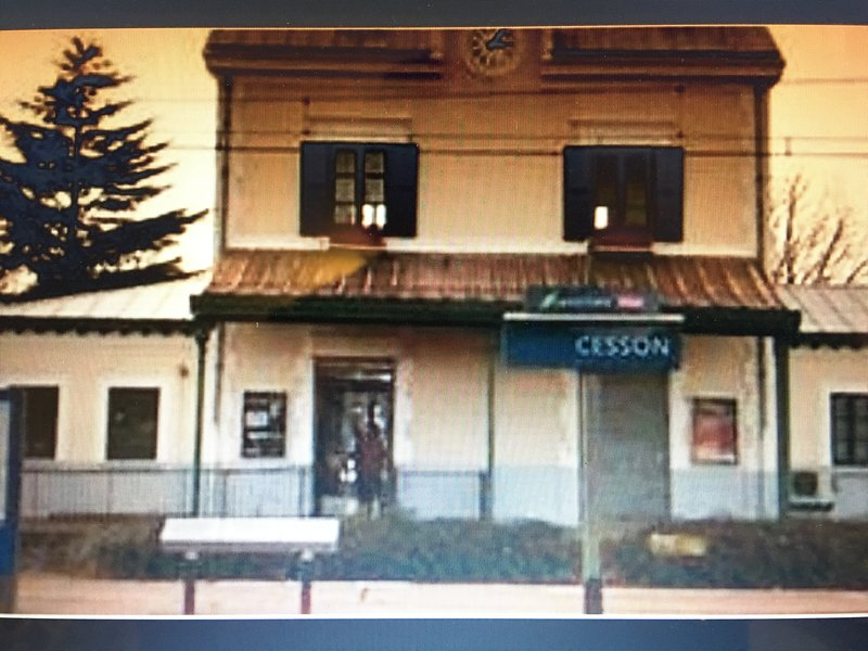 Station Cesson eta 1.9 km from the rental