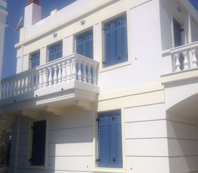Villa Ourania, 3 bedrooms, Limenaria, Thassos, holiday rental in Skala Sotiros