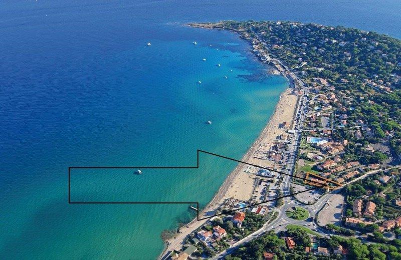 Zoomez sur le rectangle orange pour voir où se trouve le Studio du Levant.
