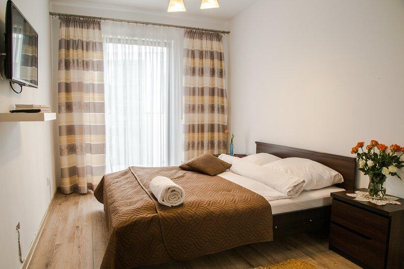 Apartment KOMFORT, Ferienwohnung in Czosnow