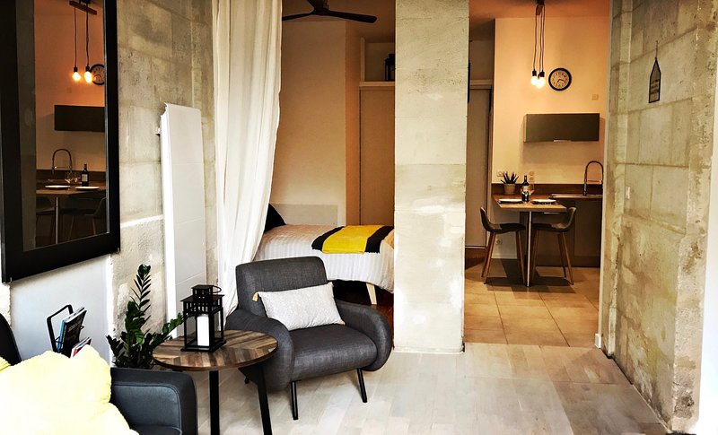 Beautiful, cozy 1bdm apartment in the center of Bordeaux, casa vacanza a Merignac