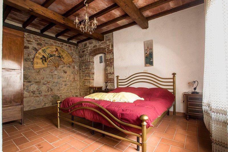 Appartamento stile Rustico Toscano, casa vacanza a Massa Marittima