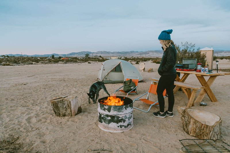 Pitch your tent or a travel trailer. Come and enjoy the beautiful desert by the campfire