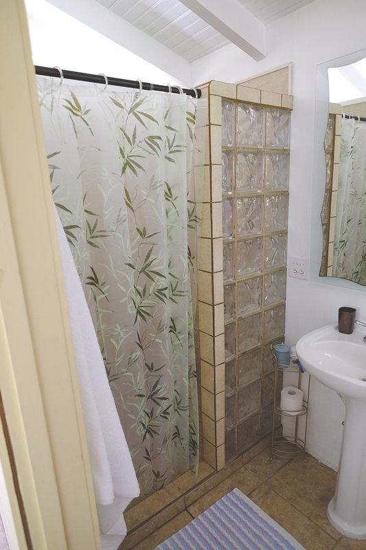 Casita Verde casa de banho completa