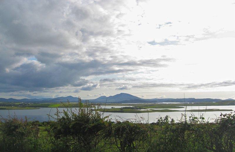 Fanad Head view of Mulroy Bay.  A short walk.