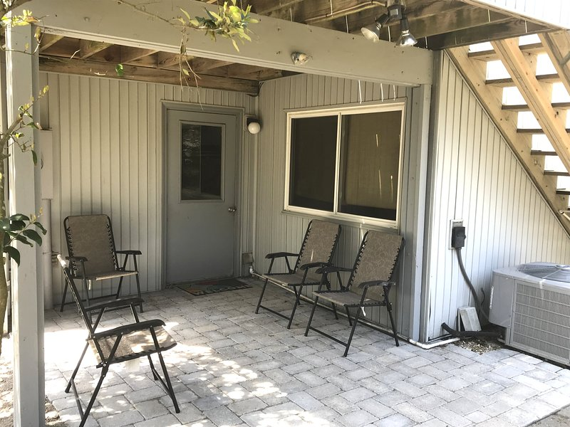 First level patio