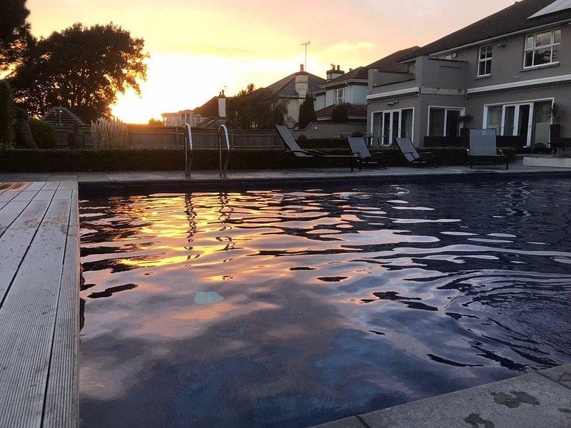 Enjoy relaxing around the pool