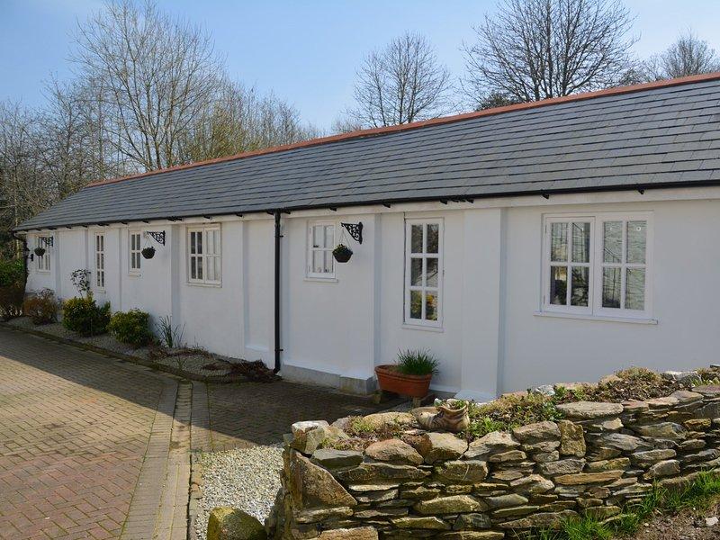 View towards this pretty Cornish retreat