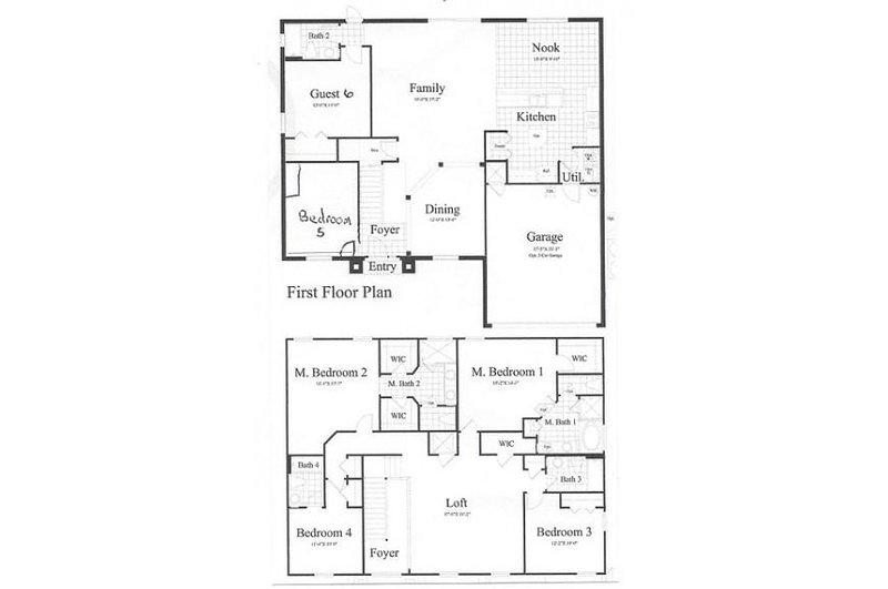 Watersong Resort 174 floor plan