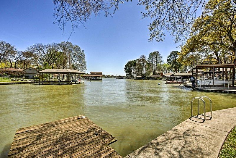 Experimente o máximo lago retiro Texas neste casa de férias!