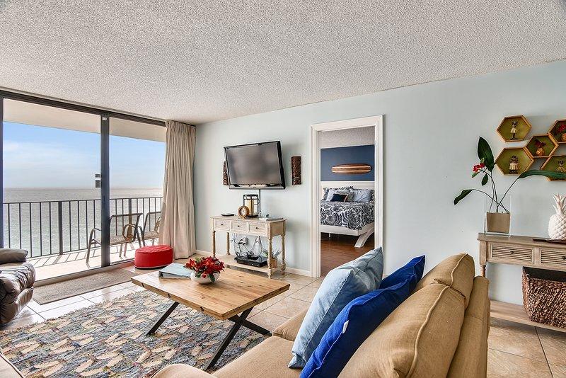 Edgewater Beach Resort 1009-2-Living Area