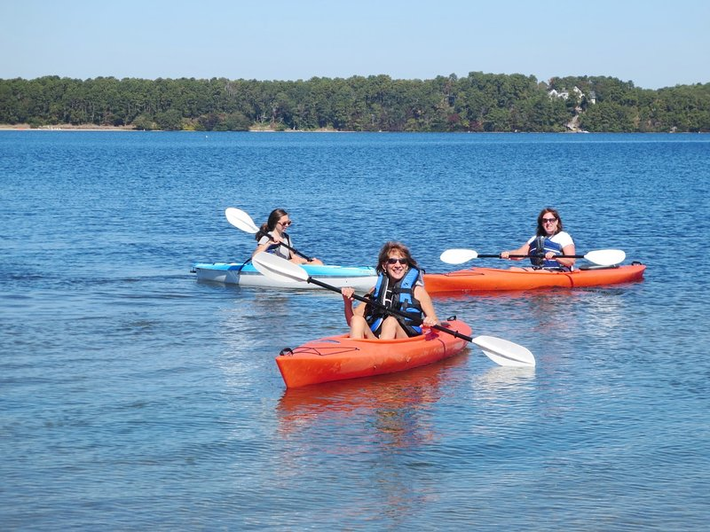 Rent a Kayak and enjoy the adventure on Long Pond! Harwich, Cape Cod, New England Vacation Rentals