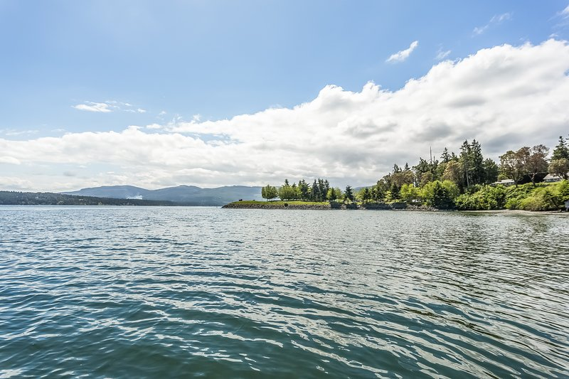 Spend the day kayaking on calm waters.