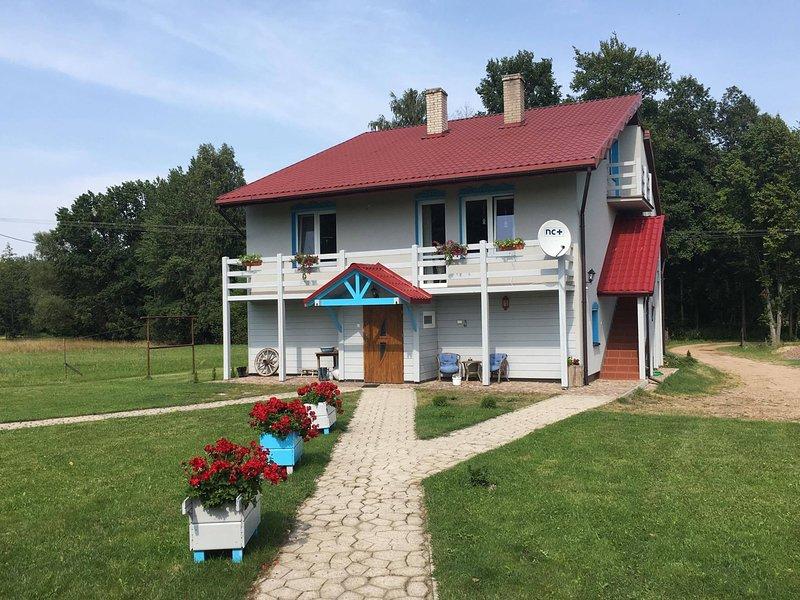 Dom na Starym Goscincu TISZYNA, holiday rental in Nurzec Stacja