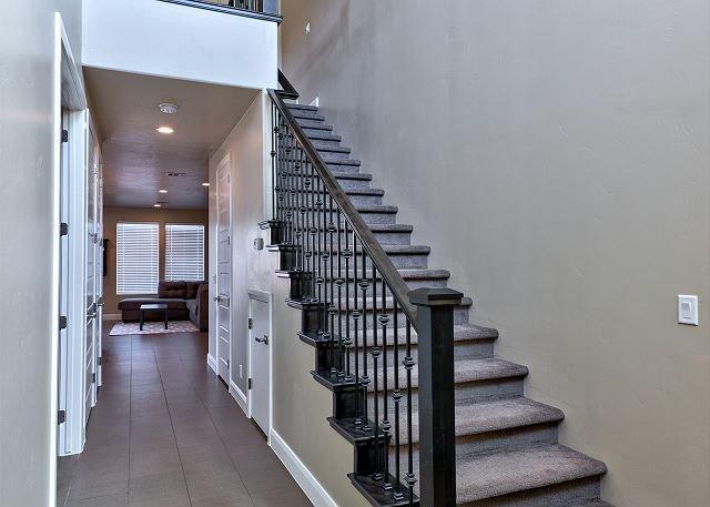Main Hallway & Stairway