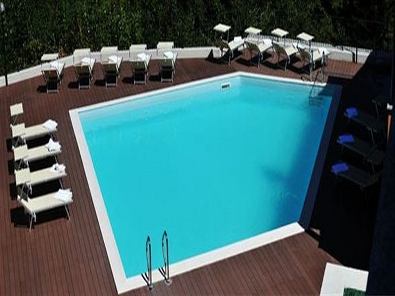 Sunlayers am Pool