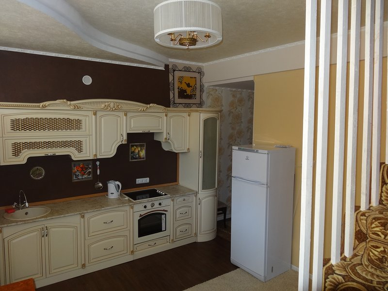Sochi 2- story Duplex by Olympic Park with own parking lot, vacation rental in Vesyoloye
