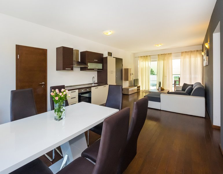 A1 - living room & kitchen
