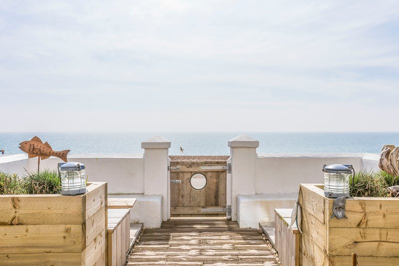 Stunning Victorian Beach Villa, Amazing Sea views, Luxury accommodation,5 bed, Ferienwohnung in Burmarsh