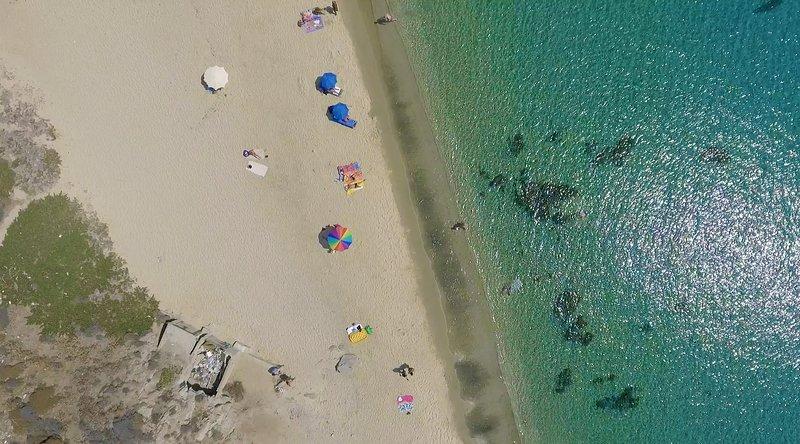 La mejor playa de la isla un paso