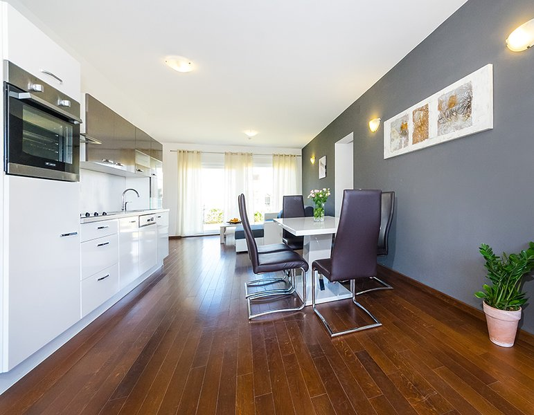 A2 - living room & kitchen