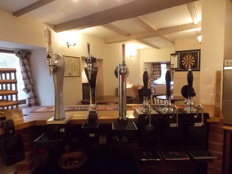 Bar with Dart Board