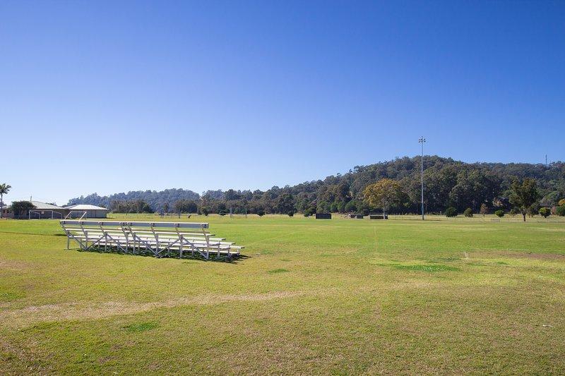 Sportsfield across the road