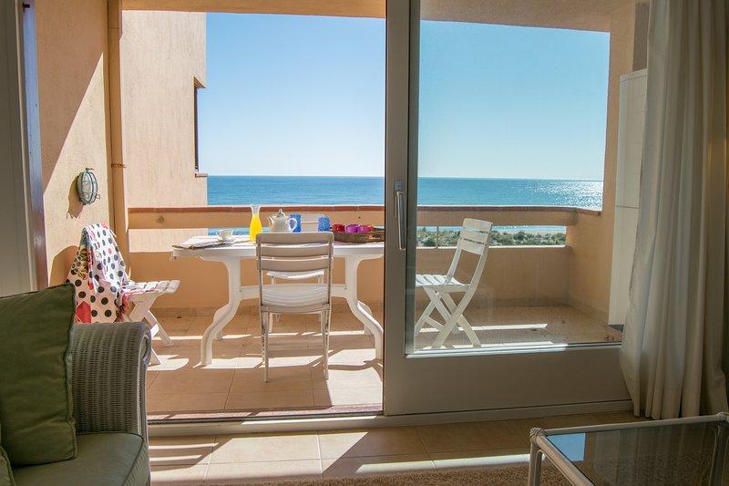 terrace with sea views-SA PUNTA COSTA BRAVA