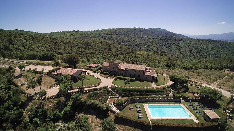 Tenuta di Forte Sorgnano, location de vacances à Canalicchio