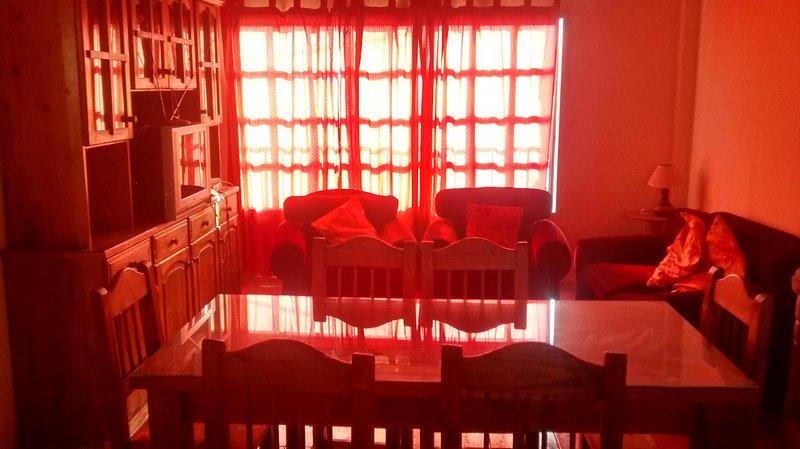 DEPARTAMENTO AMPLIO PARA 6 PERSONAS, EXCELENTE UBICACION EN RUTA DEL VINO, holiday rental in Villa Nueva