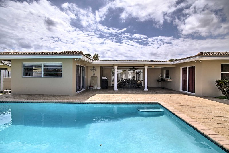 Prepare for an unbeatable getaway at this Pompano vacation rental house!