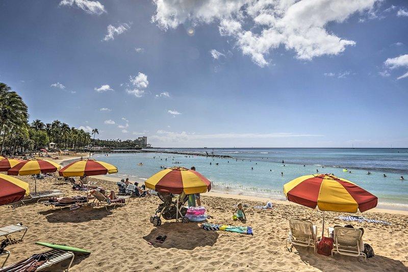 Découvrez le paradis tropical de Honolulu Location de vacances apt.!
