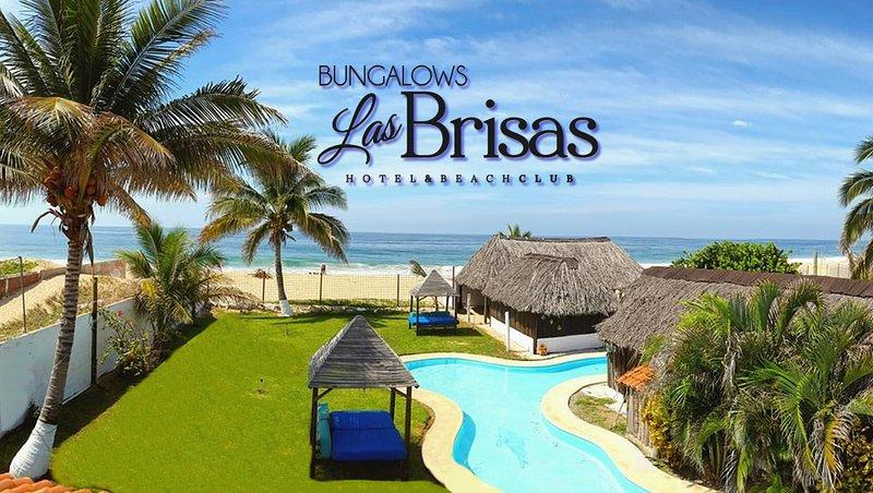 Eco Hotel Bungalows Las Brisas Acapulco. Bungalow A/A., holiday rental in Colonia Luces en el Mar