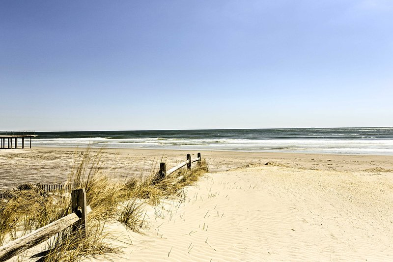 You'll be just 2 blocks away from the beach!