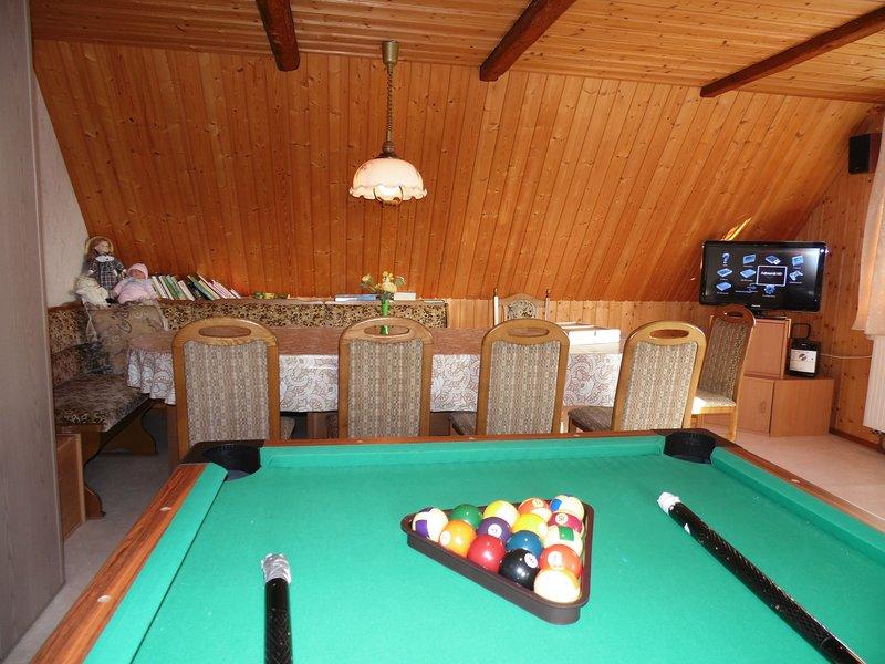 Lounge met zwembad