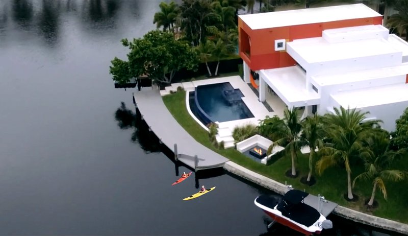 Waterfront Exquisite Contemporary Luxury Home, holiday rental in Wilton Manors