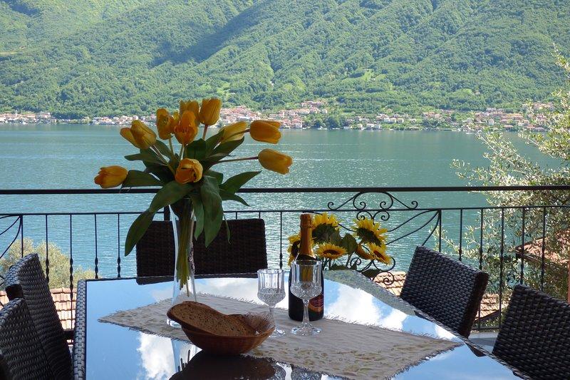 Isola Vista - Terrazzo, alquiler vacacional en Colonno