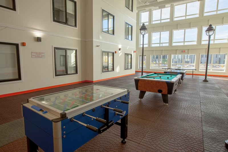 Would you like a game of pool, fusball, or ping-pong?  Come give it a go in our games room!