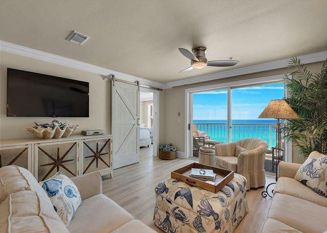 Beach Front Condo - Crystal Dunes 306 - Wohnbereich