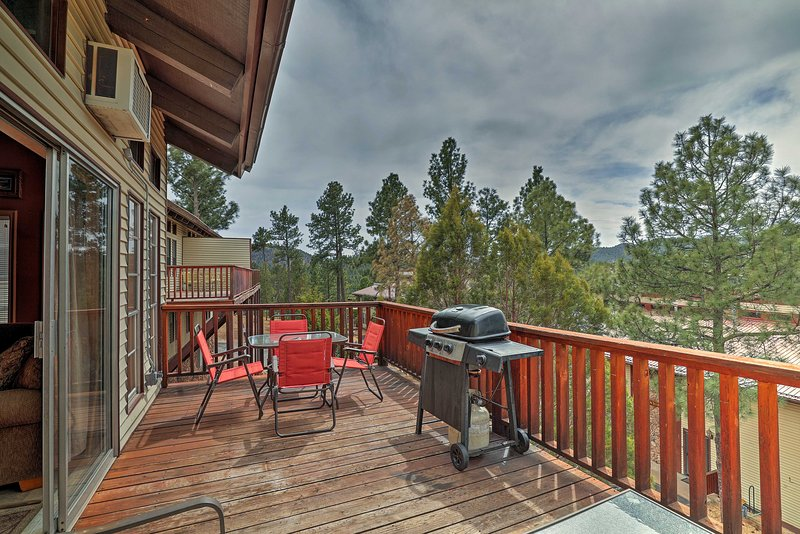 Retreat to this Ruidoso vacation rental property!