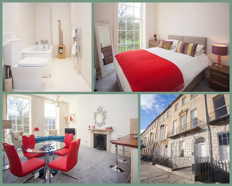 Peaceful City Centre Apartment, Sleeps 4 (GP), holiday rental in Bath