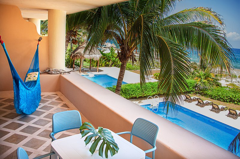 Terrace View to the Mexican Caribbean