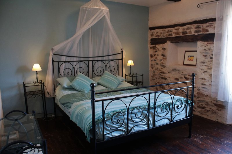 Peaceful relaxing master bedroom.