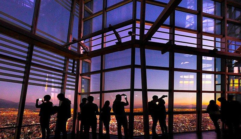 Mirador en la Torre Costanera